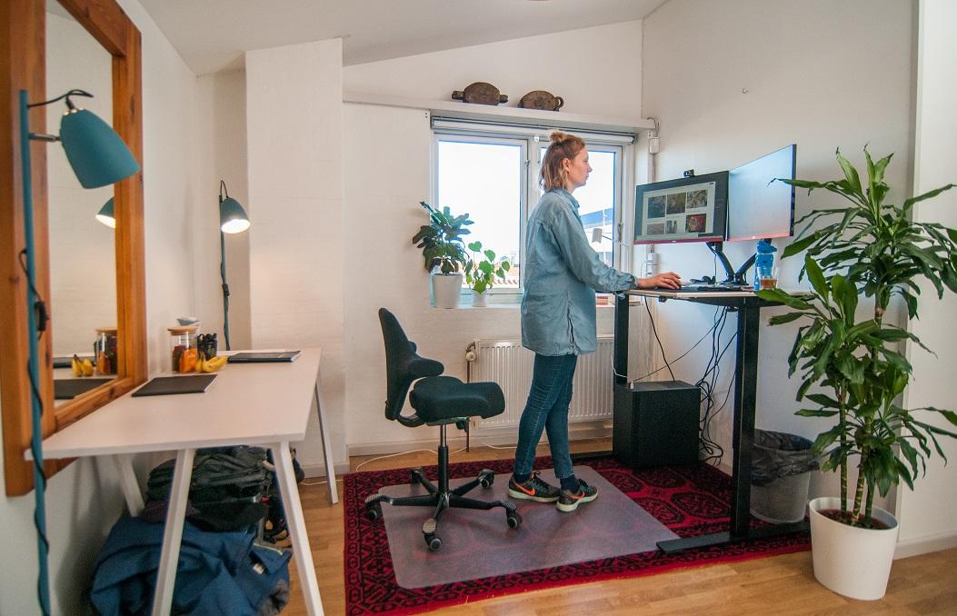 Forkontoret er pt. optaget og indrettet rigtig hyggeligt af Lisa Lang.